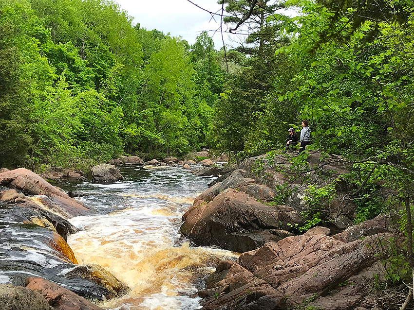Wisconsin Fly Fishing Forums Copper Falls State Park